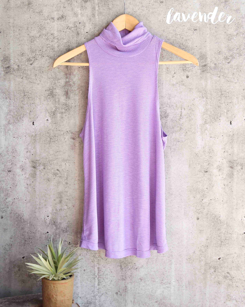 Free People - Topanga Sleeveless Turtleneck in More Colors