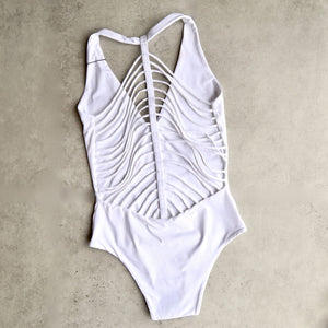 khongboon - florina white strappy one piece - shophearts - 1