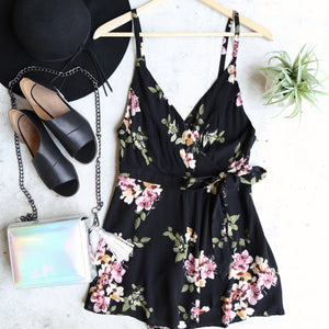another day - floral romper - more colors