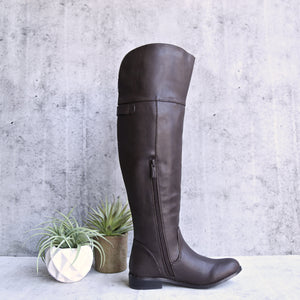 estelle motorcycle riding boots - brown