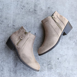 block heel ankle booties - more colors - shophearts - 2