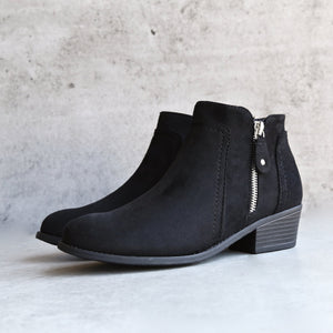 block heel ankle booties - more colors - shophearts - 3