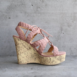 Aden Platform Wedge Sandal (Women) - shophearts - 8