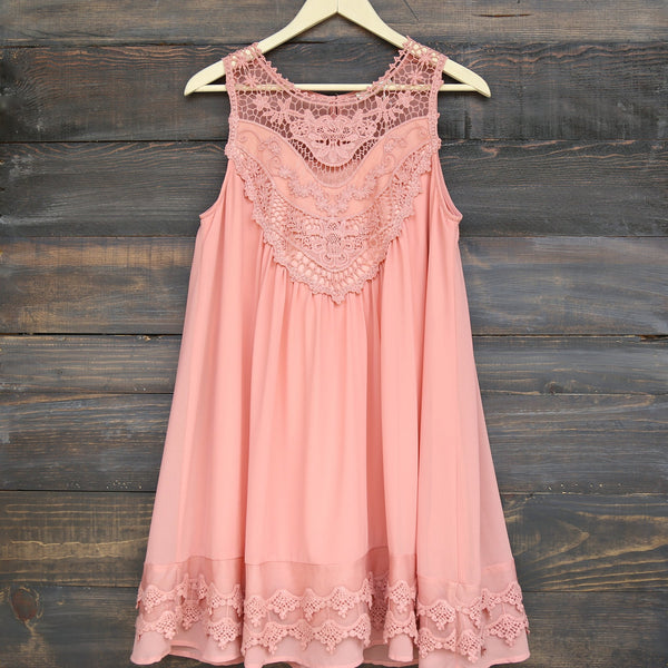angel lace flowy dress -  more colors