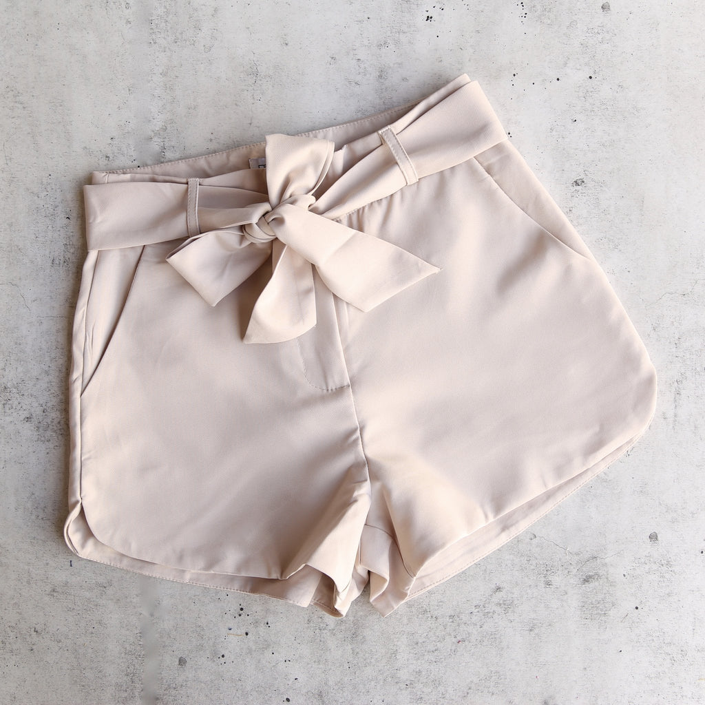 Paper Hearts - Woven High Rise Shorts