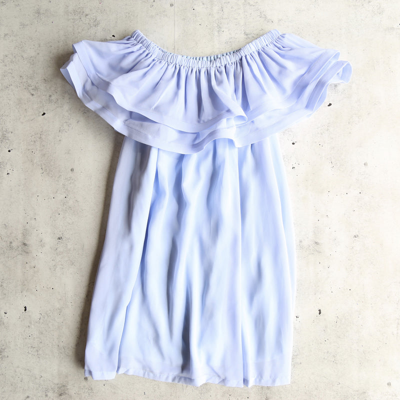 Reverse - Frilled to Pieces Off The Shoulder Dress in More Colors