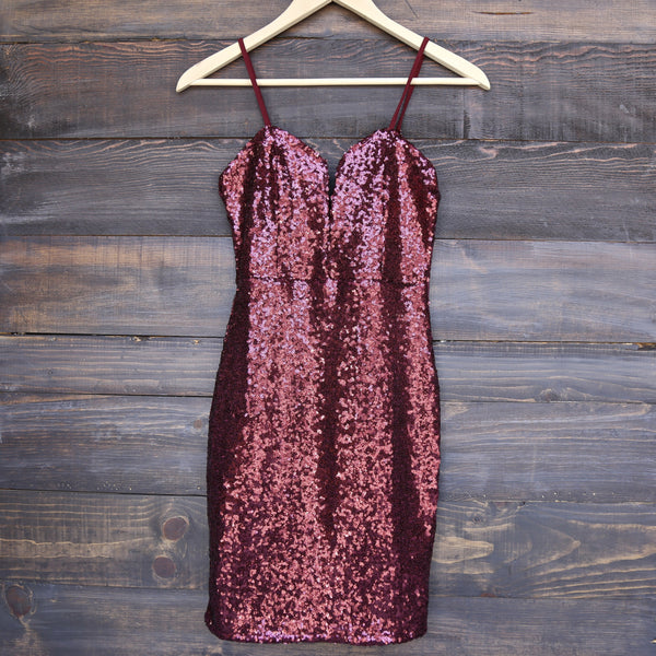 sequin beauty bodycon dress - more colors