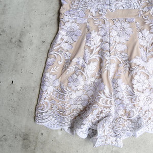 dulce embroidered romper - more colors