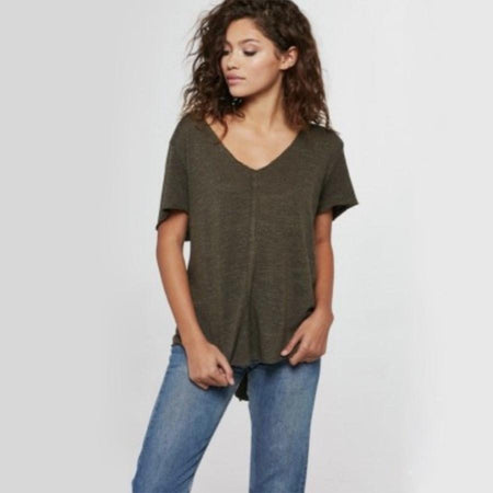 knot it knot-front t-shirt dress - more colors