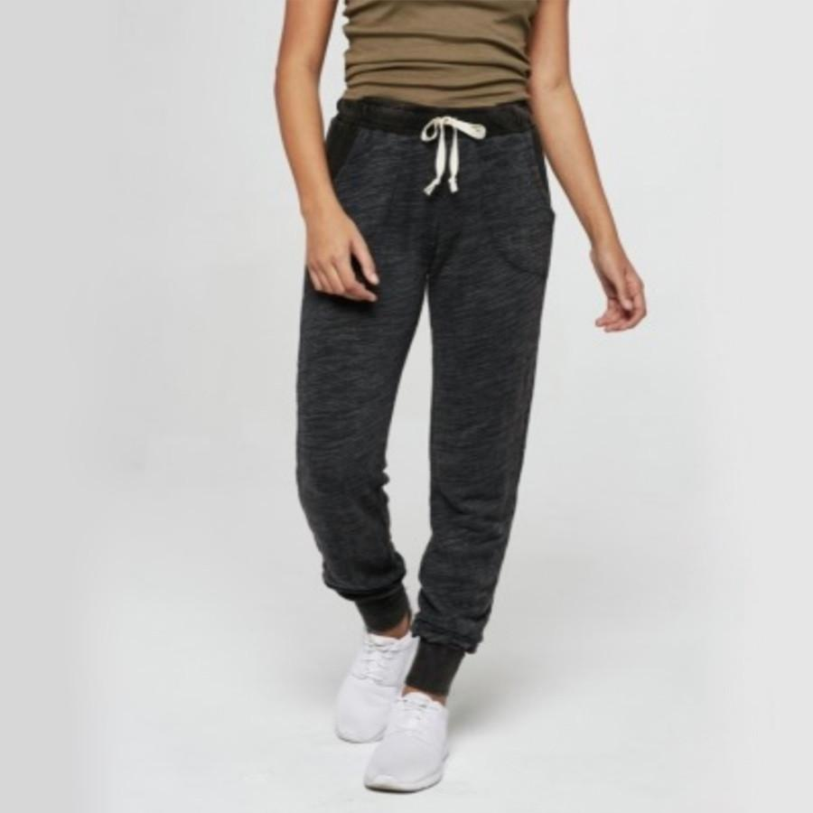 project social t - bonfire skinny jogger pants - black