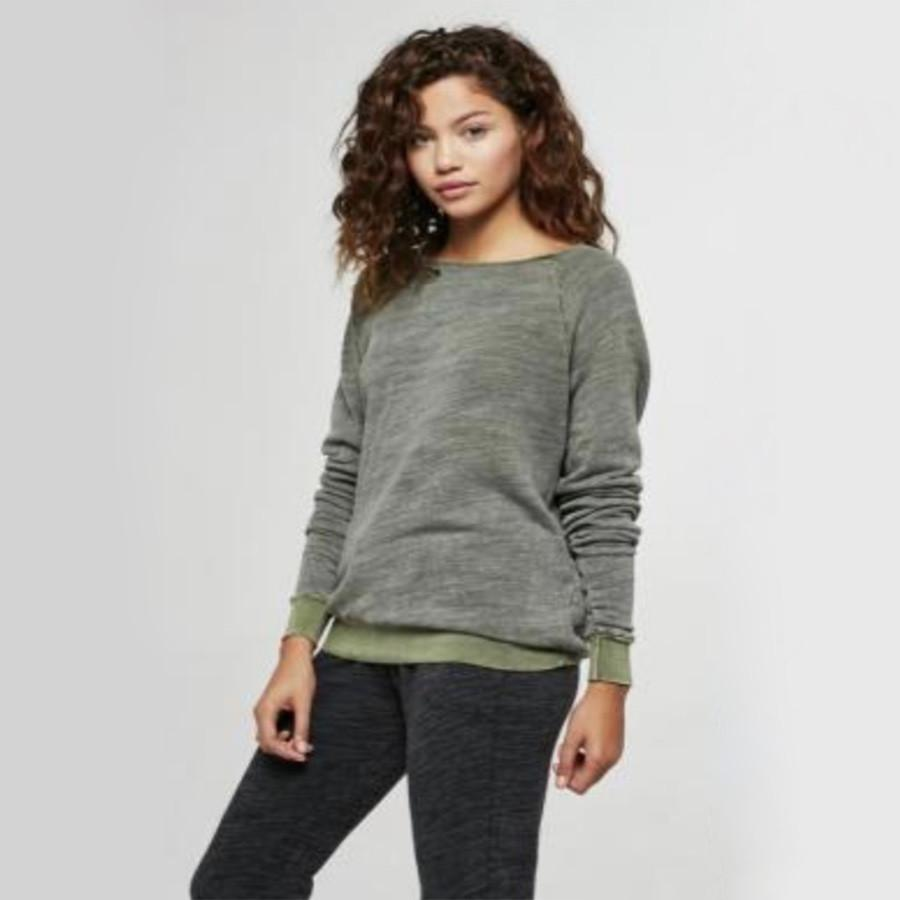 Final Sale - Project Social T - Bonfire Crewneck Sweatshirt in More Colors