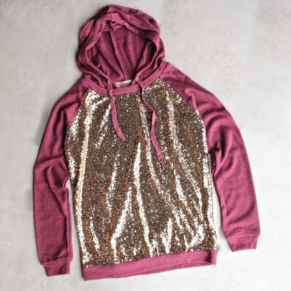 all dolled up sequin hoodie - shophearts - 1 82e3797d7
