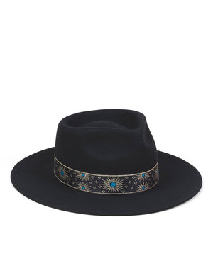 Lack of Color - The Phoenix Vintage Classic Fedora - Black
