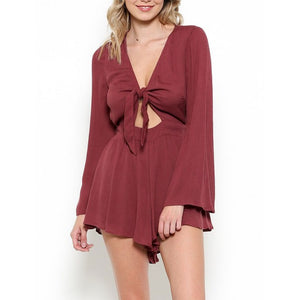 a love like this romper - mauve
