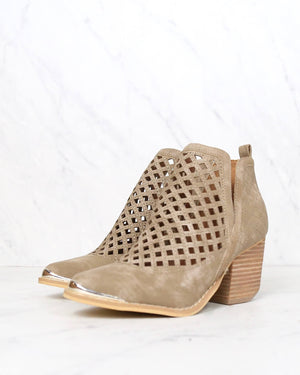 Miracle Miles - Vera Lost Valley Cutout Ankle Bootie in More Colors