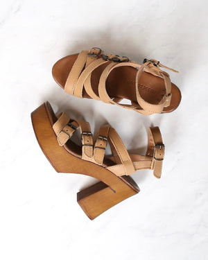 Musse & Cloud - Malena Sandals in Cue/Tan