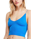 Free People - Ribbed V-Neck Brami in More Colors