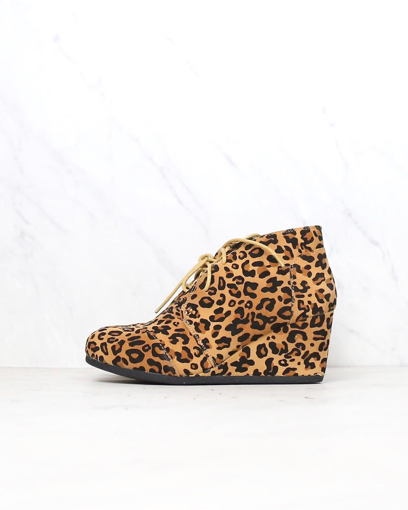 wild thing ankle booties