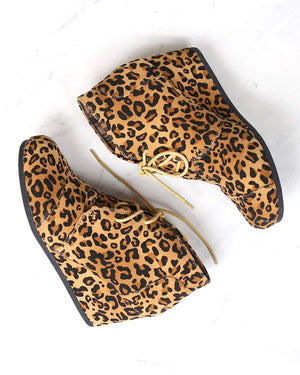 Leopard Wild Thing Ankle Booties
