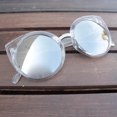 FINAL SALE - Quay China Doll sunglasses - clear - shophearts - 4