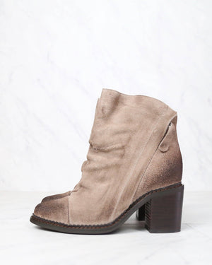Sbicca - Millie Women's Suede Leather Booties in Beige