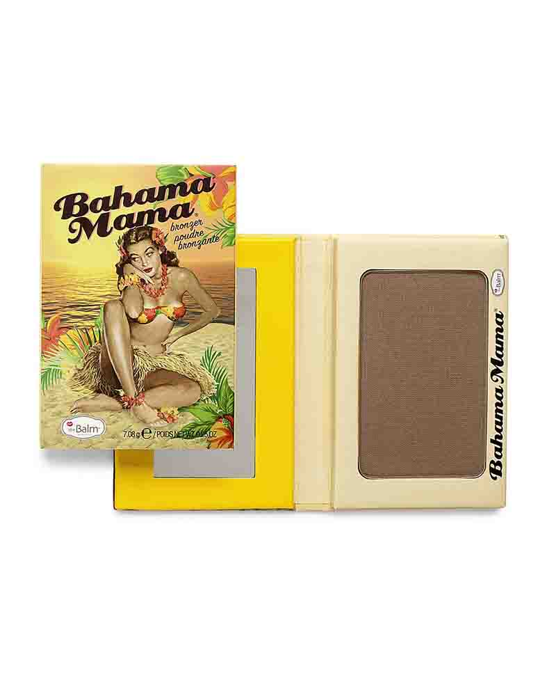 theBalm - bahama mama - bronzer, shadow, and contour pressed powder
