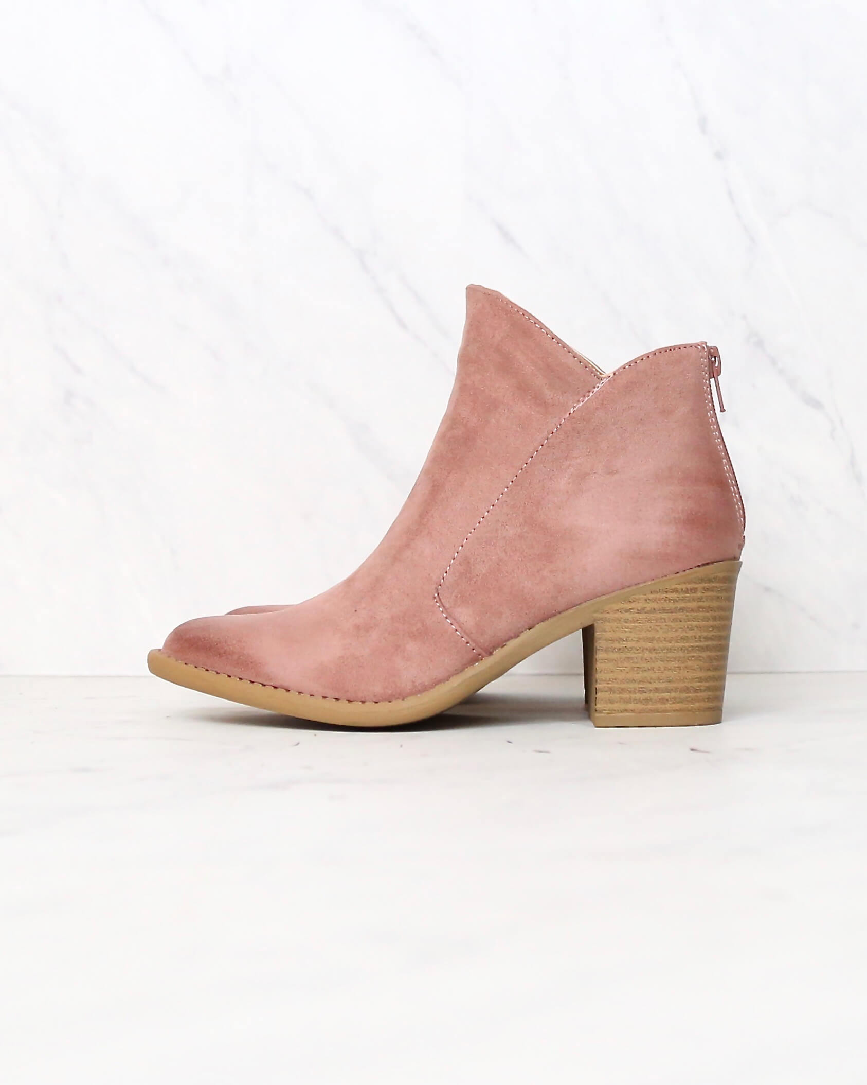 246b1e276cd almond toe chunky heel western bootie black mauve taupe qupid tobin-13