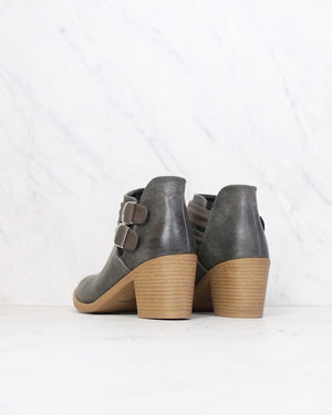 Rascal Western Inspired Booties in Grey