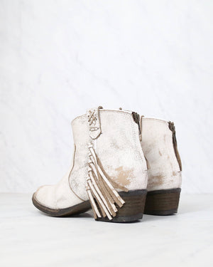 Very Volatile - Lookout Fringe Leather Booties in More Colors