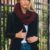 Analise - Chunky Braided Infinity Scarf in More Colors