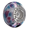 SilveRado Aqua Zone Murano Glass Bead