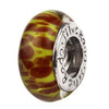 SilveRado Desert Rose Murano Glass Bead, Murano Glass Bead, SilveRado