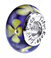 SilveRado Evening Star Murano Glass Bead, Murano Glass Bead, SilveRado