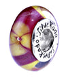 SilveRado Tropical Treasure Murano Glass Bead, Murano Glass Bead, SilveRado