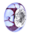 SilveRado Sea Rose Murano Glass Bead, Murano Glass Bead, SilveRado