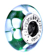 SilveRado Barracuda Murano Glass Bead, Murano Glass Bead, SilveRado