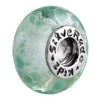 SilveRado Lime Crunch Murano Glass Bead, Murano Glass Bead, SilveRado