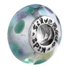 SilveRado Dew Drops Murano Glass Bead, Murano Glass Bead, SilveRado