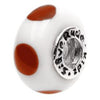 SilveRado Penelope Longstockings Murano Glass Bead, Murano Glass Bead, SilveRado