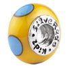 SilveRado Busy Bee Murano Glass Bead, Murano Glass Bead, SilveRado