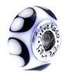 SilveRado Black Hawk Murano Glass Bead, Murano Glass Bead, SilveRado