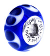 SilveRado Blue Destiny Murano Glass Bead, Murano Glass Bead, SilveRado