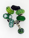 SilveRado Xmas Green Murano Glass Bundle, Murano Glass Bundle, SilveRado