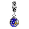 SilveRado Night Sky Murano Glass Dangle, Murano Glass Dangle, SilveRado