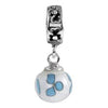 SilveRado Wind Dance Murano Glass Dangle, Murano Glass Dangle, SilveRado