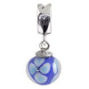 SilveRado Touch the Sky Murano Glass Dangle, Murano Glass Dangle, SilveRado