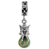 SilveRado Party Princess Murano Glass Dangle, Murano Glass Dangle, SilveRado