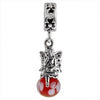 SilveRado Garden Fairy Murano Glass Dangle, Murano Glass Dangle, SilveRado