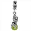 SilveRado Woodland Fairy Murano Glass Dangle, Murano Glass Dangle, SilveRado