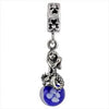 SilveRado Mermaid Wishes Murano Glass Dangle, Murano Glass Dangle, SilveRado